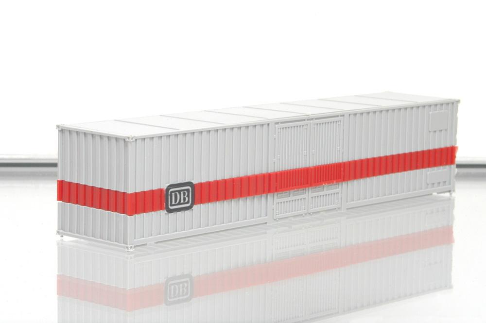 roco h0 4319 containertragwagen db mit 40 fuss container neu ohne ovp. Black Bedroom Furniture Sets. Home Design Ideas